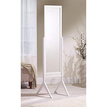 55 Mirrotek Adjustable Free Standing Tilt Full Length Body Floor
