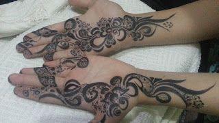 تعليم النقش اليمني صور نقش جميلة Henna Hand Tattoo Hand Tattoos Hand Henna