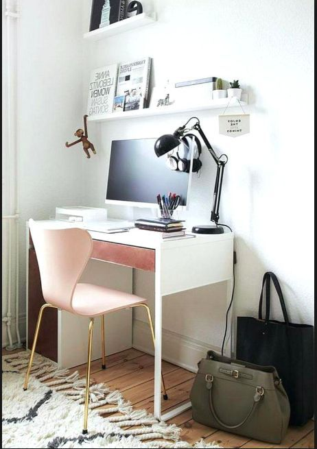 My Ikea Micke Desk Idea In 2020 Micke Desk Minimalist Room Ikea Micke Desk