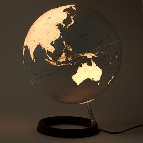 So cool! Peter's of Kensington | Atmosphere - Full Circle Reflection Globe White