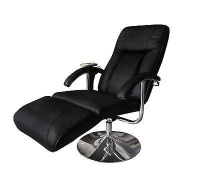 Heizung vidaXL Kunstleder Massagesessel Fernsehsessel Relaxsessel Massage TV