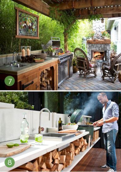 89 Incredible Outdoor Kitchen Design Ideas That Most Inspired 07 Simple Outdoor Kitchen Outdoor Kitchen Outdoor Cooking Station