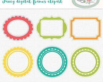 Floral Wedding Frame Clipart Digital Frame Floral Boho Etsy Wedding Frames Framed Wedding Photos Digital Frame