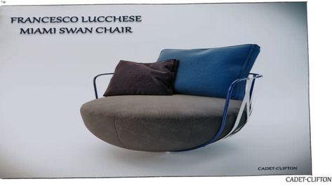 Poltrona Miami Swan.Francesco Lucchese Miami Swan Chair Bloco Cadeira De
