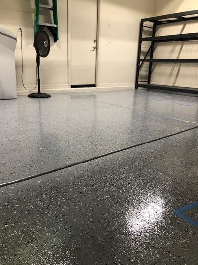 Rust Oleum Epoxyshield 240 Oz Gray High Gloss 2 5 Car Garage Floor Kit 365187 The Home Depot Garage Floor Car Garage Clean Garage Floor