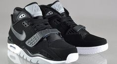 new products 3f78e ca388 NIKE Air Trainer SC II Black White