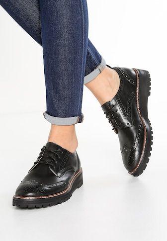Epingle Sur Zapatos Oxford Mujer