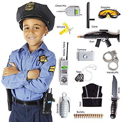 CK1382 Junior SWAT Commander Military Police Boys Girls Teens Book Week Costume