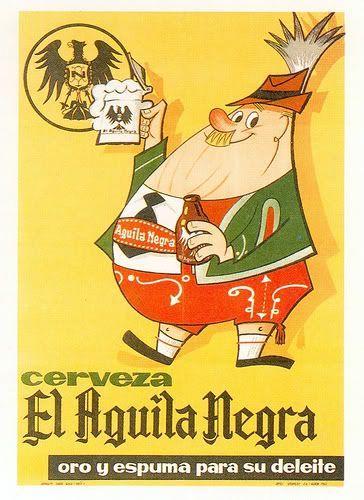 Metal Tin Sign cerveza el aguila negra Decor Bar Pub Home Vintage Retro Poster
