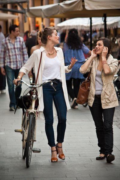Italian Cycle Chic in Padova