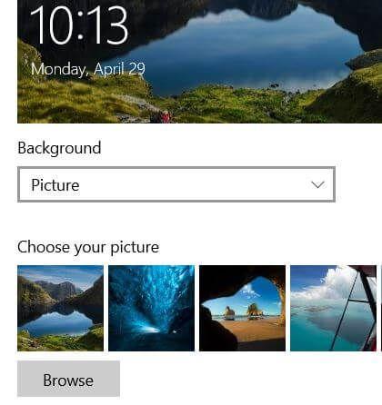 How To Change Windows 10 Lock Screen Wallpaper Bestusefultips Screen Wallpaper Lock Screen Wallpaper Lock Screen Picture