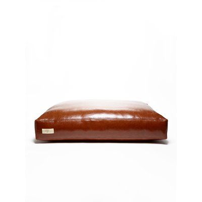 Bosco Dog Bed Rectangular Pillow Bed With Faux Leather Filled With Recycled Plastic Poly Fiber Available In Various Dog Pillow Bed Dog Bed Large Diy Dog Bed