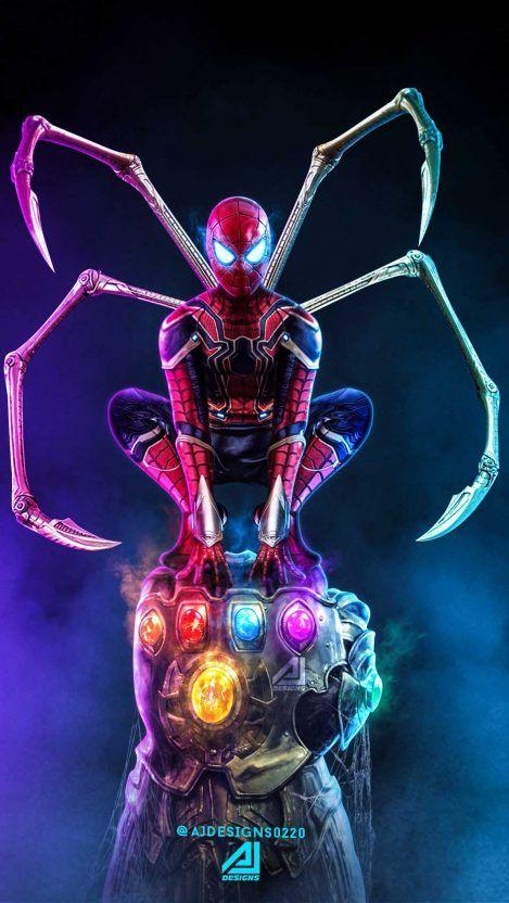 Thanos Vs Spider Man Iphone Wallpaper Iphone Wallpapers Marvel Superhero Posters Marvel Comics Wallpaper Marvel Cool spider man wallpapers hd