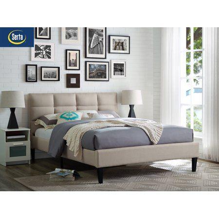 Home Upholstered Bed Frame Adjustable Beds Modern Bedroom Design