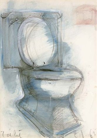 View Blue Toilet By Claes Oldenburg On Artnet Browse Upcoming And