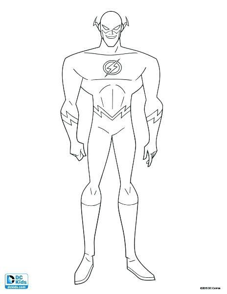 Dibujos Para Colorear De Flash Flash Dibujo Dibujos Dibujos