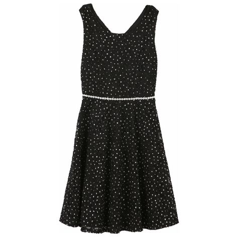 ea49f24f69 Girls 7-16   Plus Size Speechless Allover Lace Sparkle Skater Dress