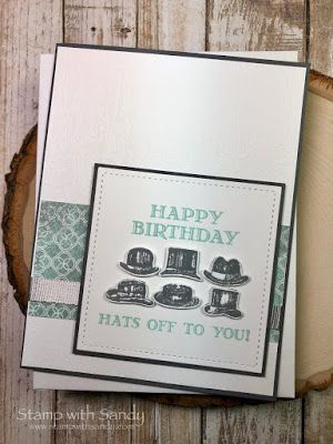 Stamp With Sandy Male Cards Birthday Cards Masculine Cards