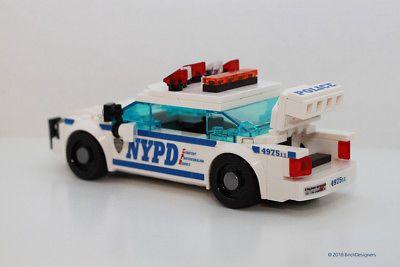 Instructions /& Stickers to build a custom Lego Secret Service Sedan NO BRICKS