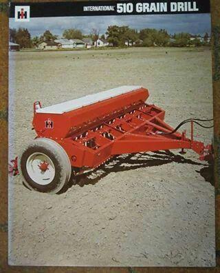 Ih 510 Grain Drill Ad Old Farm Equipment International Tractors Vintage Farm