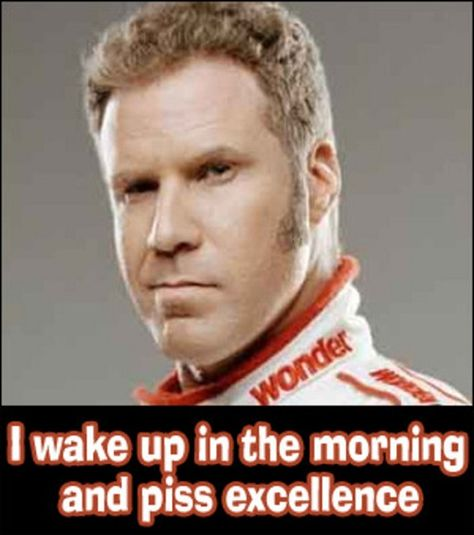 Will Ferrell always makes me laugh, esp. when he's so lame