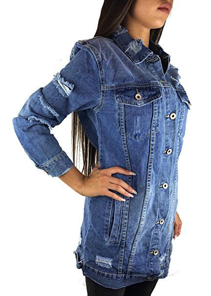 new product bd7f9 c70ce Pin auf Jeansjacken Frauen Trends
