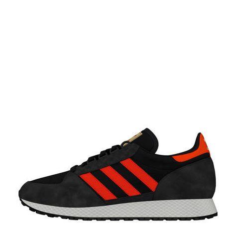 rode adidas schoenen