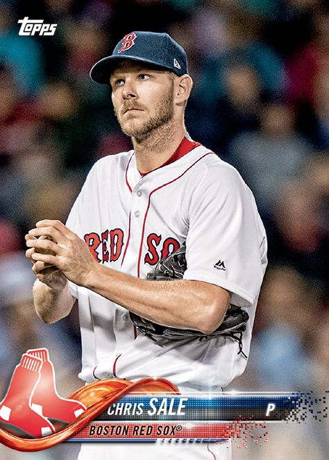 Chris Sale Baseball Cards Cards Boston Red Sox