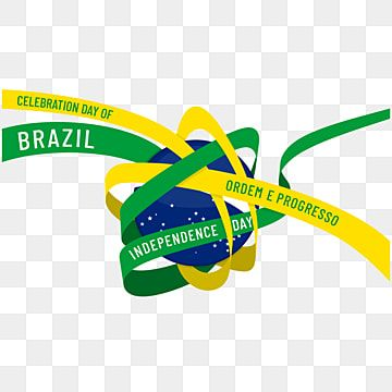 Brazil Independence Day With Ribbon Around The Globe Globe Brasil Day Png And Vector With Transparent Background For Free Download Print Design Template Creative Graphic Design Creative Poster Design
