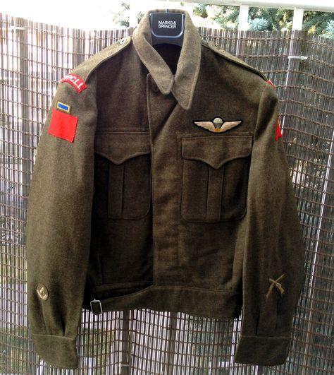 1951 Canadian Korean War era battledress to 2nd Btn Princess Patricia's Canadian Light Infantry.