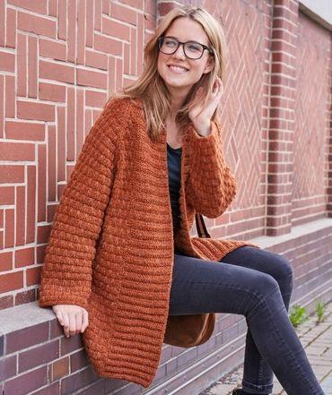 Damen Häkel Pullover, S10048 | Schachenmayr