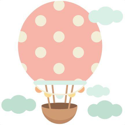 Hot Air Balloon cute scrapbook cuts SVG cutting files doodle cut files for scrapbooking clip art clipart doodle cut files for cricut free svg cuts