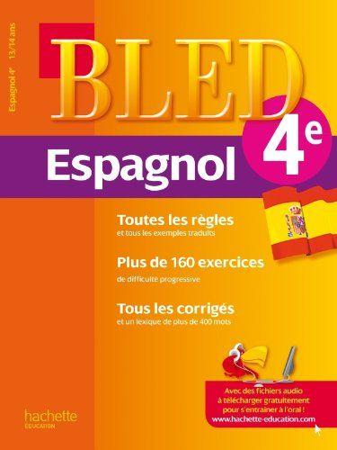 Henin Beaumont Pdf Cahier Bled Espagnol 4e 13 14 Ans In 2020 Book Library App Library App Library Software