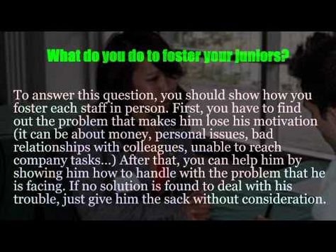 ▷ Assistant Manager Interview Questions   YouTube | Walmart | Pinterest | Assistant  Manager And Management Interview Questions  Assistant Manager Interview Questions