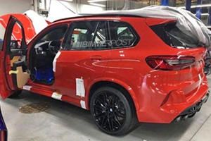 See The New Bmw X5 M Without Any Annoying Camouflage With Images Bmw X5 M New Bmw