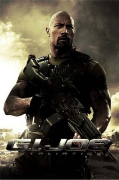 The Rock Stands Tall In G.I. Joe: Retaliation Teaser Poster