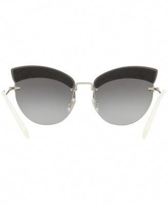 87729cc82b06 Miu Miu Sunglasses, Mu 58TS 65 - Silver #MiuMiu | Miu Miu ...