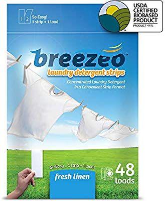 Breezeo Laundry Detergent Strips Laundry Detergent Sheets Fresh
