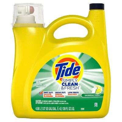 Tide Simply Clean Fresh Daybreak Fresh Liquid Laundry Detergent