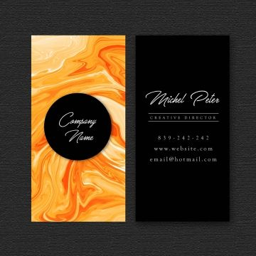 Business Card With Marble Texture Abstract Texture Visiting Png And Vector With Transparent Background For Free Download Business Card Texture Free Business Card Design Graphic Design Business