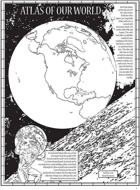 65 coloring geograficideen  geografie erdkunde