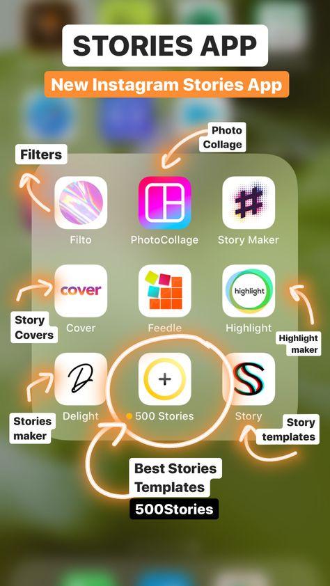 New Insta Stories App