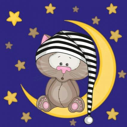 Pin By Diana Knutsen On Night Cat Illustration Animal Clipart Cute Clipart