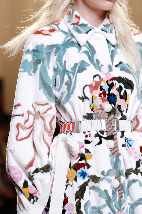 ~ Living a Beautiful Life ~ See detail photos from the Fendi Spring 2017 show at Milan Fashion Week.