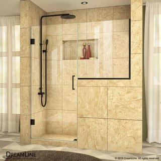 Dreamline Unidoor Plus 63 63 1 2 In W X 72 In H Hinged Shower