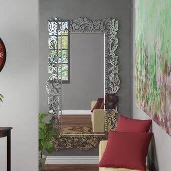 Astoria Grand Adelaide Rectangle Wall Mirror Wayfair Mirror Wall Living Room Living Room Mirrors Mirror