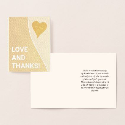 Attention Grabbing Bold Love And Thanks Card Zazzle Com Thanks Card Cards Greeting Card Design