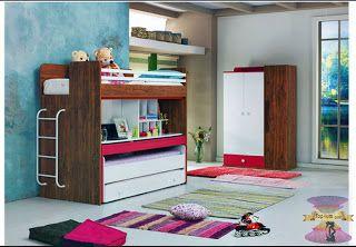 غرف نوم اولاد سراير بدورين شبابية حقا تاخذ العقل Home Decor Loft Bed Home