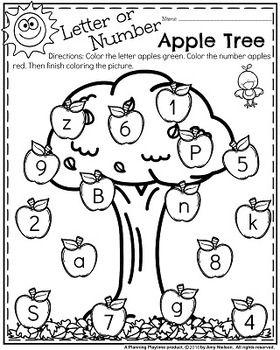 Preschool Worksheets - November | art application for PreK | Pinterest