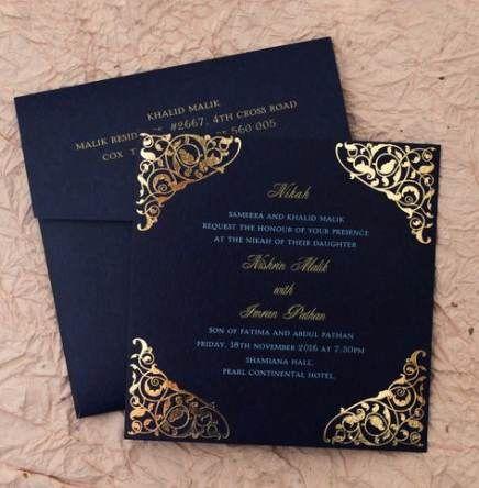 Best Wedding Card Elegant Invitation Ideas Ideas Indian Wedding Invitation Cards Muslim Wedding Invitations Wedding Invitation Card Design